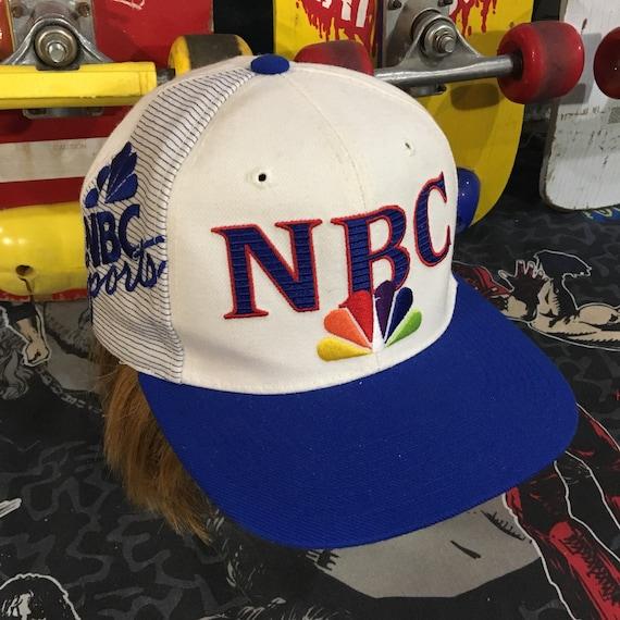 373c2984ebc NBC Sports snapback hat SPORTS SPECIALTIES vintage 90s