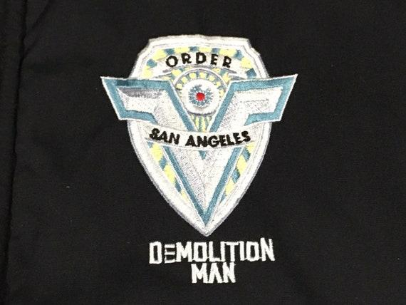 vintage 90s Demolition Man movie promo jacket - sz