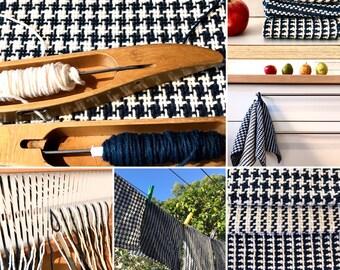 Cotton Dishcloths 7.5 dpi Rigid Heddle Loom Weaving Project - digital PDF Download Pattern