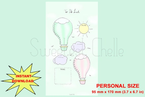 image relating to Printable Hot Air Balloon referred to as Adorable Printable Particular person Dimensions Web site - Printable Incredibly hot Air Balloon Towards Do Record - In the direction of Do Record - Very hot Air Balloon Topic - Lovable - Pastel