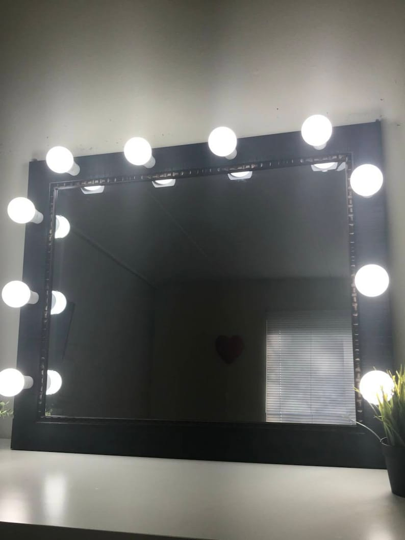 Amazing Hollywood Makeup Vanity Mirror With Led Lights Led Bulbs Included