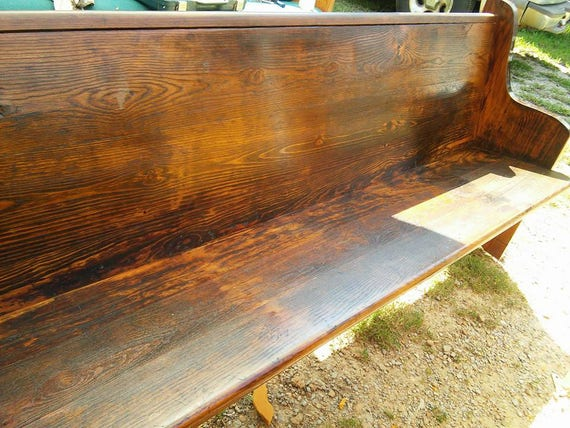Remarkable Reclaimed Church Pews Custom Sizes And Finishes Available Gmtry Best Dining Table And Chair Ideas Images Gmtryco