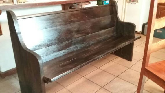 Terrific Reclaimed Church Pews Custom Sizes And Finishes Available Gmtry Best Dining Table And Chair Ideas Images Gmtryco