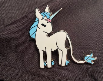 The Last Unicorn Enamel Pins - Hard Enamel Nickel Silver