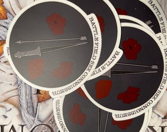 FBAA Connoisseur Vinyl Stickers - From Blood and Ash