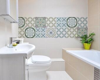 Mix tegel stickers keuken badkamer tegels vinyl vloer tegels etsy
