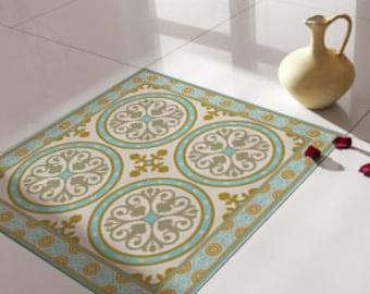 Traditionele tegels vloertegels floor vinyl tile etsy
