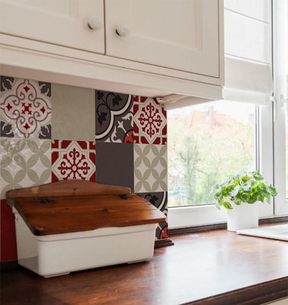Tile Or Vinyl In Bathroom: Mix Tile Decals Kitchen/Bathroom Tiles Vinyl Floor Tiles