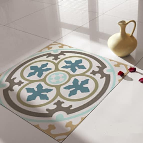 Floor Tile Decalsstickers Vinyl Decals Vinyl Floor Self Etsy