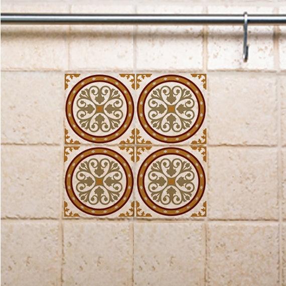 Kitchen Floor Tiles Australia: Tile Decals Kitchen/Bathroom Tiles Vinyl Wall Floor Tiles