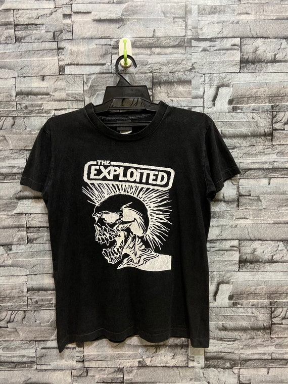 Vintage The Exploited band punk rock t shirt.. vin