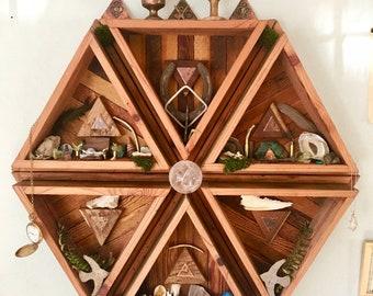 The Hexagon Triangle Shelf