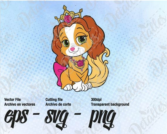 Palace Pets Teacup Svg Clipart Vector SVG Eps For Personal