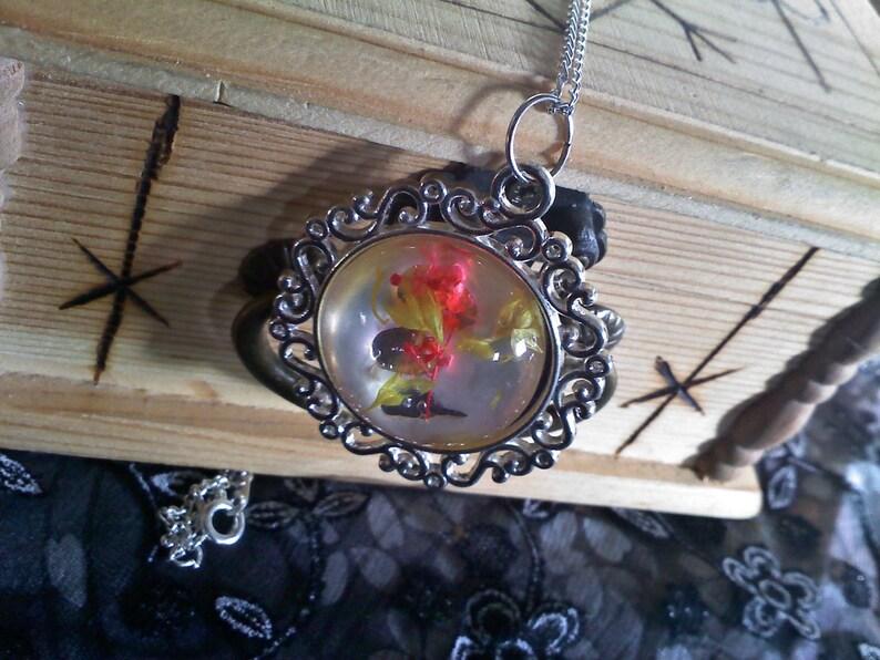 Frozen Petals Necklace