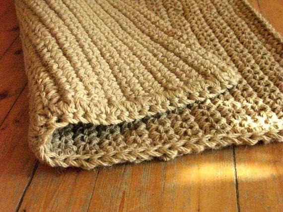 jute t r teppich h keln jute seil teppich fu matte. Black Bedroom Furniture Sets. Home Design Ideas