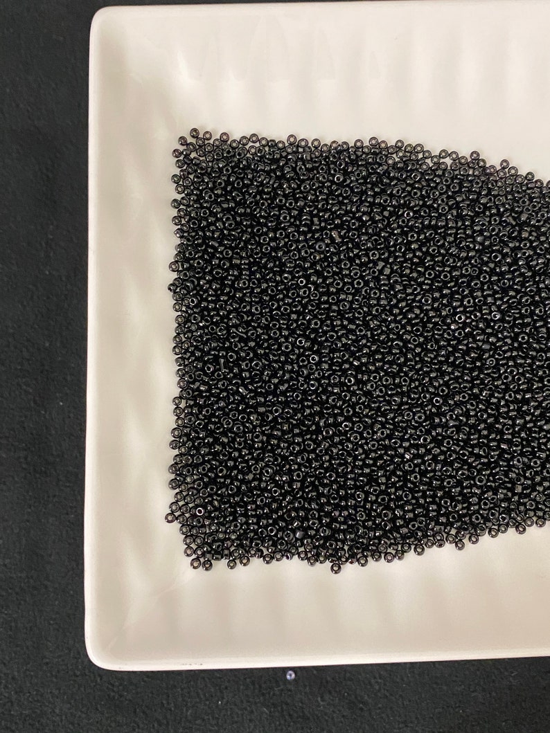 Slime embellishment Embellishments Shaker Element Queen of the Night Tulip Seed Beads Black Seed Beads Seed Bead