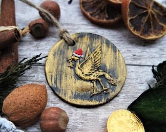 Liverpool Liver bird Christmas Decoration