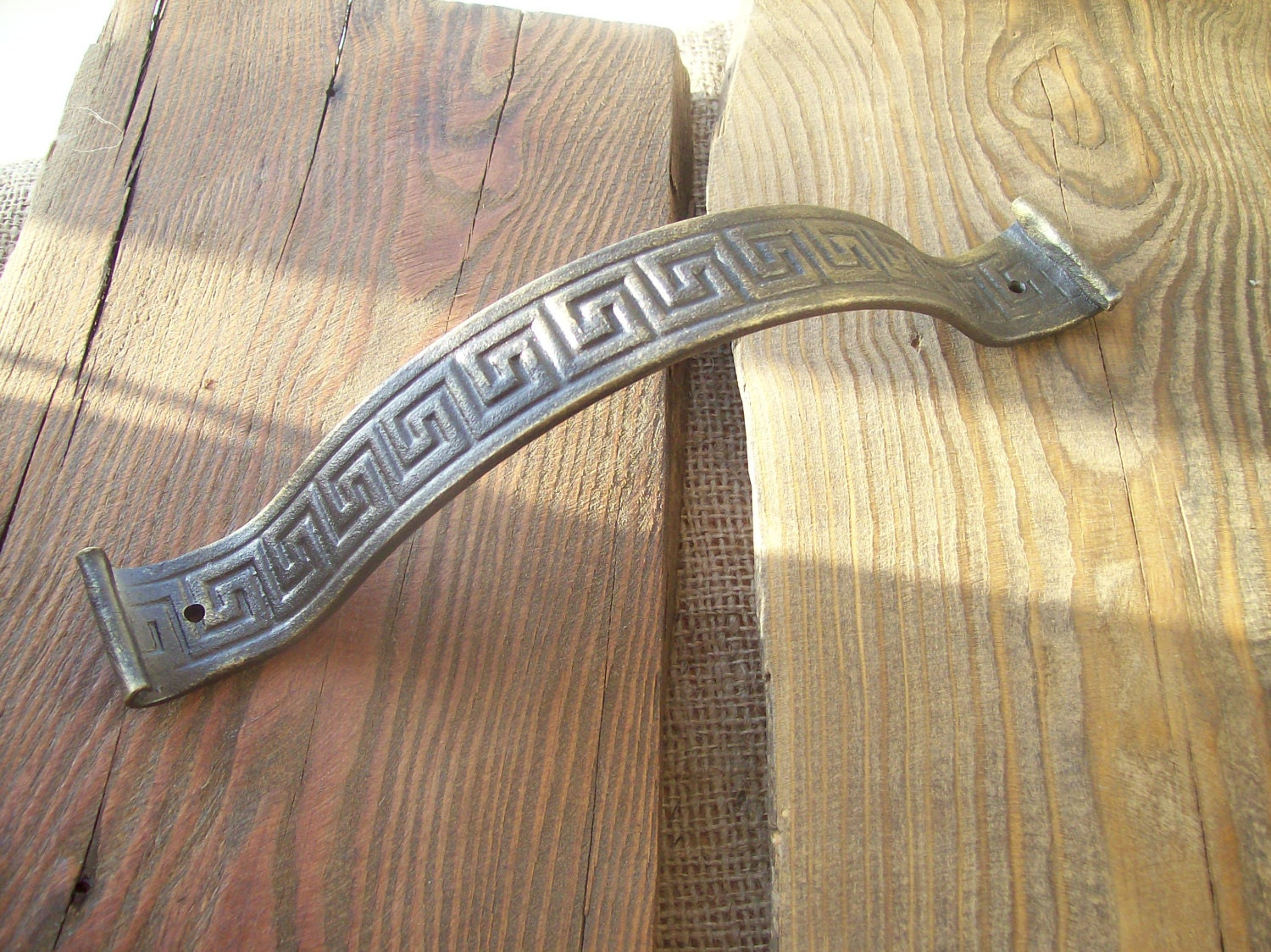 Forged Viking Style Handle Antique Style Door Handles
