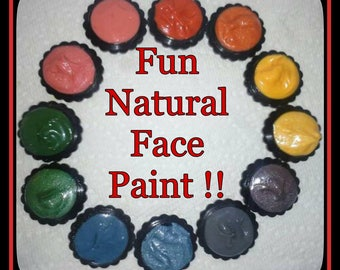 Natural Face Paints!