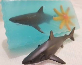 Great White Shark Soap