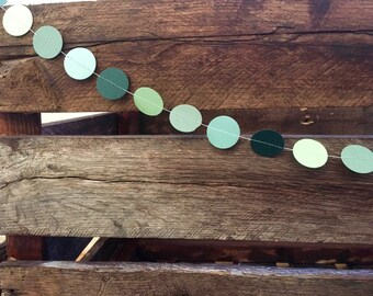 Paper Garland. Birthday, Baby Shower, Bridal Shower, Celebration