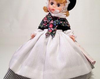 Great Britain Madame Alexander Doll # 558 | 8 inch Miniature Showcase International Series