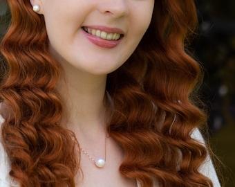 Single Pearl Necklace - June Birthstone