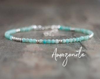 Dainty Amazonite Bracelet