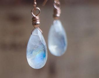 Moonstone Earrings - June Birthstone