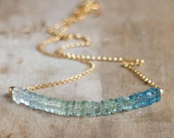 Bi colour Fluorite Necklace
