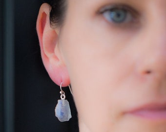 Gemstone Drop Earrings