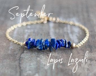 Raw Lapis Lazuli Bracelet