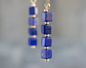 Lapis Lazuli Earrings - September Birthstone