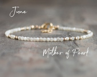 Mother of Pearl (Nacre) Bracelet