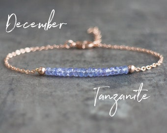 Tanzanite Bracelet - December Birthstone