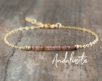 Andalusite Bracelet