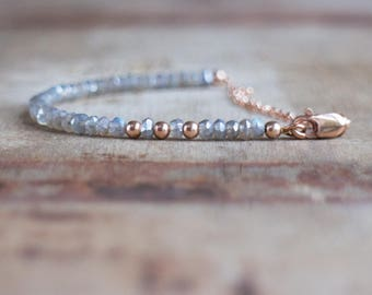 Sparkly Labradorite Bracelet