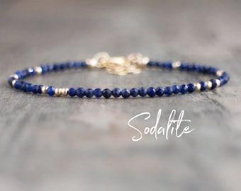 Skinny Sodalite Bracelet