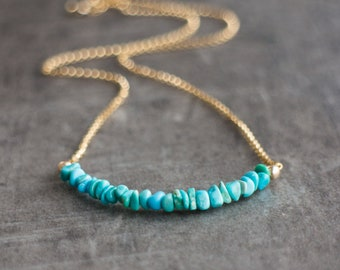 Morenci Turquoise Necklace - December Birthstone