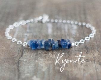 Raw Kyanite Bracelet