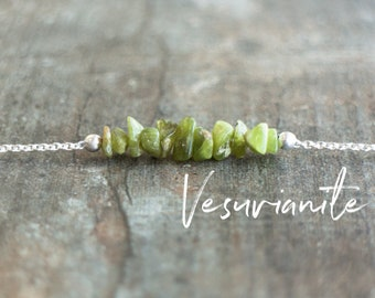 Vesuvianite Necklace