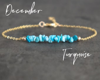 Raw Turquoise Bracelet