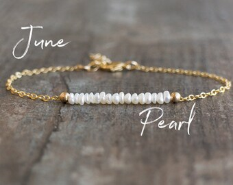Pearl Bracelet - June Birthstone