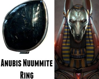 # 881 Reiki Protection From Enemies Manifestation Healing Jewelry Labradorite Ring Encoded By Egyptian High Priestess To Hold Osiris