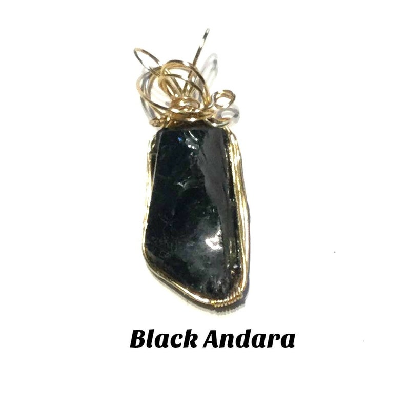 Sacred Geometry Round Black Onyx and wire wrapped Jade