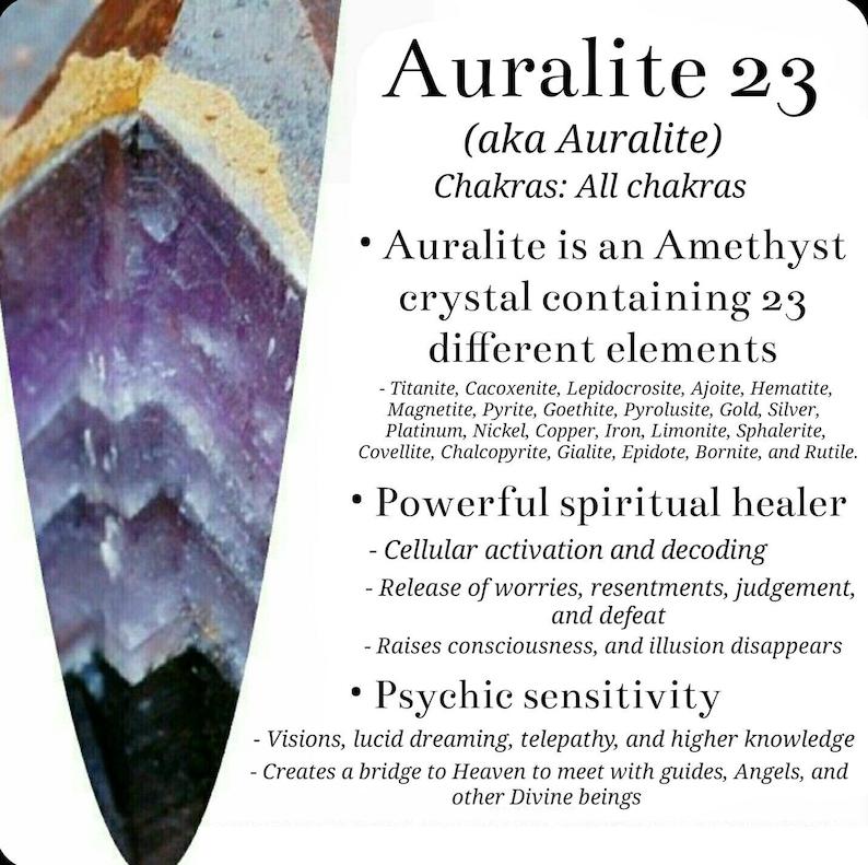 Auralite Crystal  Auralite Cluster Amethyst Crystal | Etsy