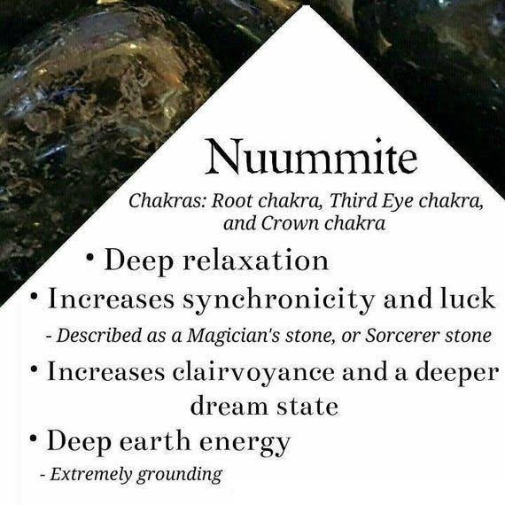 Grounding Nuummite Pendant Wire wrapped Empath Protection High Grade From Greenland Psychic Protection The Evil Eye #612 Unisex