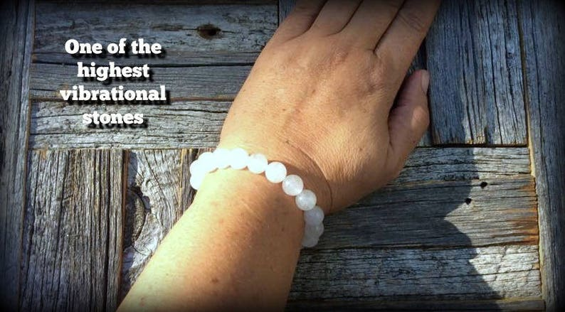 Empaths Light workers Unisex Self Care Synergy 12 Stacking Healing #1158 Jewelry On Hold For Leigh till April 2 Azeztulite Bracelet