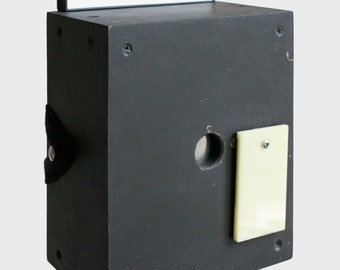 "construction MANUAL // Bauanleitung // Camera obscura // Pinhole camera // 4x5"""