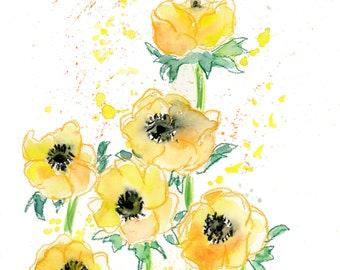 29d3c4c713d Yellow flower art
